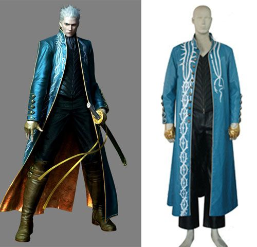 Devil May Cry 3 Vergil Cosplay Costume #Everyone Can Cosplay! Cosplay costumes #Anime Cosplay Accessories #Cosplay Wigs #Anime Cosplay masks #Anime Cosplay makeup #Sexy costumes #Cosplay Costumes for Sale #Cosplay Costume Stores #Naruto Cosplay Costume #Final Fantasy Cosplay #buy cosplay #video game costumes #naruto costumes #halloween costumes #bleach costumes #anime