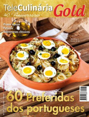TeleCulinária GOLD Fevereiro 2016 digital magazine - Read the digital edition by Magzter on your iPad, iPhone, Android, Tablet Devices, Windows 8, PC, Mac and the Web.