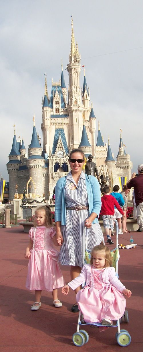 A Woman's Place...: Taking Toddlers to Disney World: My Magic Kingdom Strategy