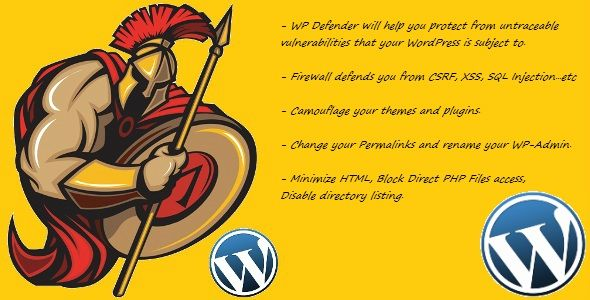 WP Defender : Security Plugin for WordPress . WP Defender will help you protect from the untraceable vulnerabilities that your WordPress is subject