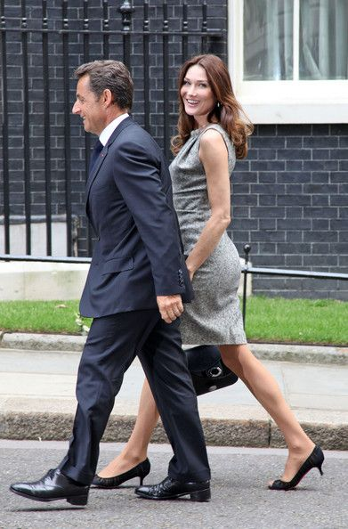 Carla Bruni-Sarkozy Photos Photos - French president, Nicolas Sarkozy, and his wife, Carla Bruni-Sarkozy, arrive at 10  Downing Street where David Cameron and his wife, Samantha, are waiting outside to greet them.  .Nicolas Sarkozy and David Cameron today marked the 70th anniversary of Charles de Gaulle's - Charles de Gaulle fled to London in 1940 and on 18 June made his war broadcast rallying the French against Nazi Germany. - Nicolas Sarkozy and David Cameron Commemorate 70th anniversary…