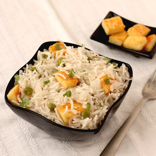 Paneer rice or popularly known as paneer pulao is one of the best rice recipes that is healthy, easy to prepare and can be served with various accompaniments and Indian curries.