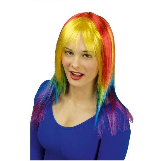 Feestwinkel online met Felgekleurde punkerspruik voor dames en vele feestartikelen. Felgekleurde punkerspruik voor dames nu voor � 9.95, uit voorraad.