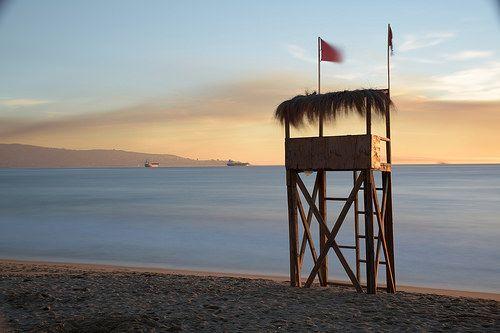 Sunset in Viña del Mar by Pablo Velarde