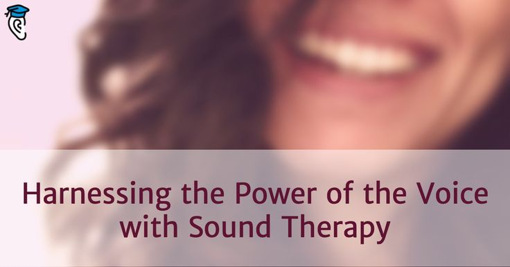 Sound therapy is a new healing technique that employs the vibrations of the human voice to go beyond relaxation and foster healing. Learn more here.