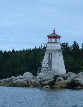 Battery Point Breakwater Light, Southern Nova Scotia