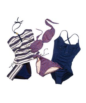 Find this season's hottest swimsuits in flattering fabrics and clever cuts that are suited for real bodies.