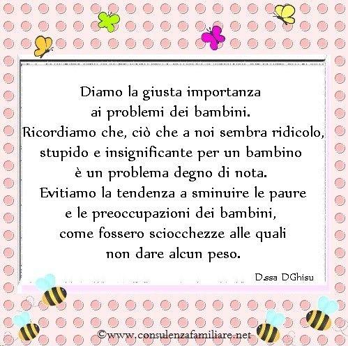 I problemi dei #bambini sono importanti ed è bene non sminuirli. #educazione…