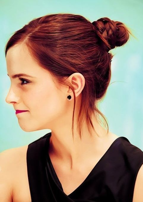 Emma Watson Hairstyles Easy Updo Popular Haircuts Easy