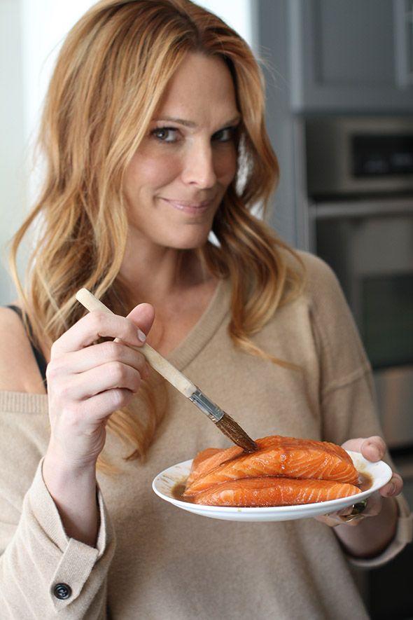 Easy & Healthy Honey Glazed Salmon Recipe   Molly Sims