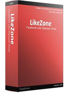 Flippy LikeZone – Facebook Like Statuses Clone Script