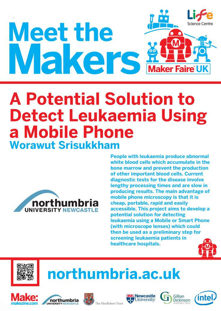 A Potential Solution to Detect Leukaemia Using a Mobile Phone at Maker Faire UK 2014