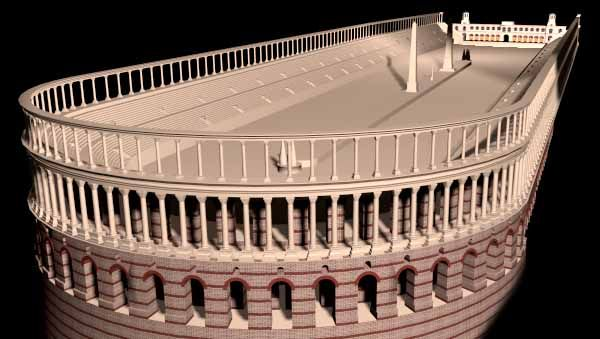 Hippodrome - Emperor Justinian's projects - Constantinople