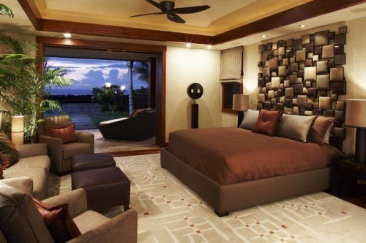 Bedroom : Medium Bedroom Decorating Ideas Brown Cork Wall Mirrors ...