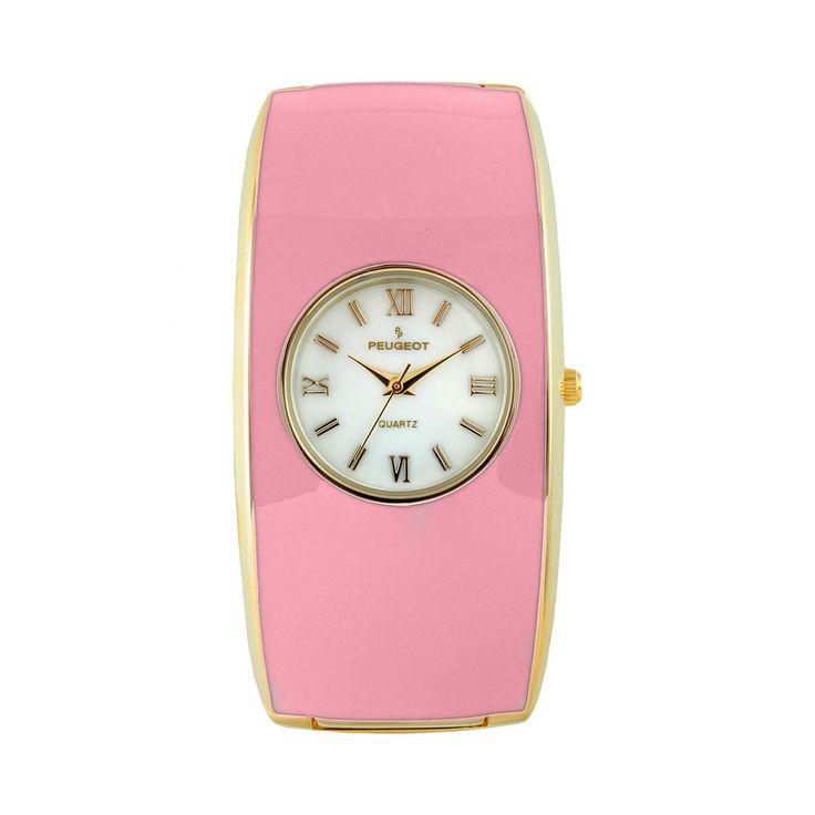 Peugeot Women's Cuff Watch, Pink