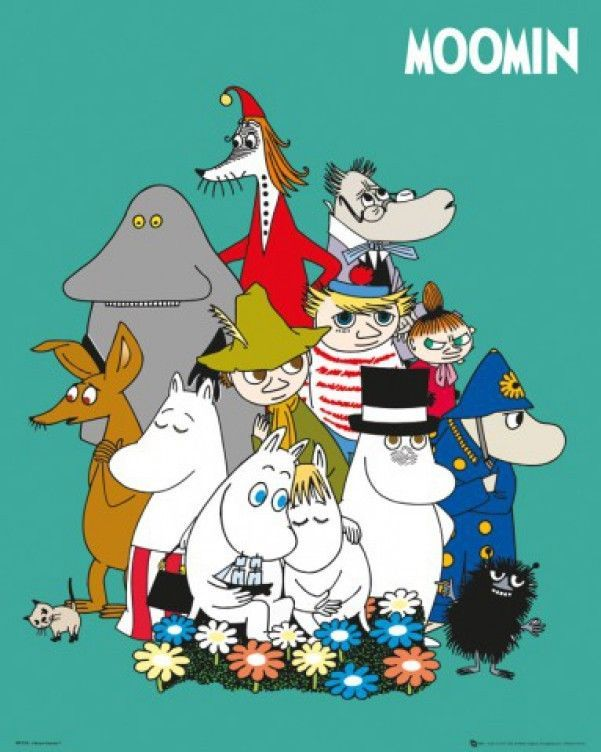 Moomin - Characters Snufkin Pipo Snork Poster (20x16inches) #68685
