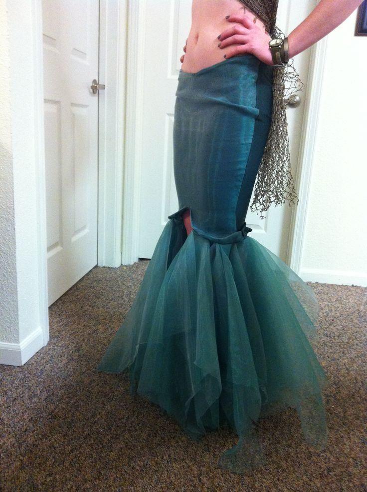Diy Mermaid Tail Costume My u003cbu003ediyu003c/bu003e hand-sewn & 45 best mermaid costume images on Pinterest | Carnivals Make up ...