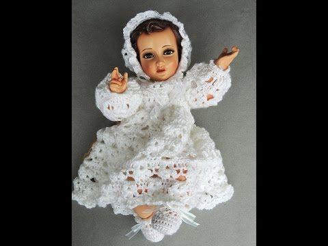 Crochet : Niño Jesus. Gorro. Parte 2 de 2 - YouTube
