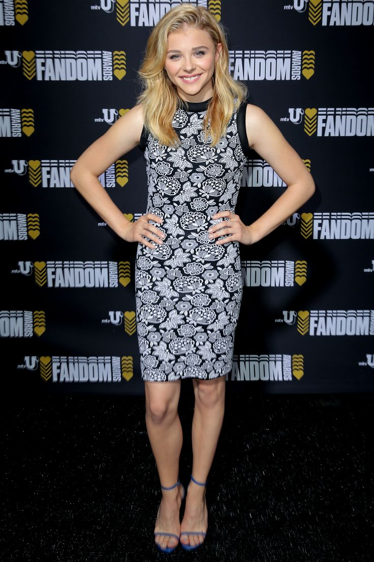 Athena massey red alert pictures to pin on pinterest - Chlo Grace Moretz In Christopher Kane