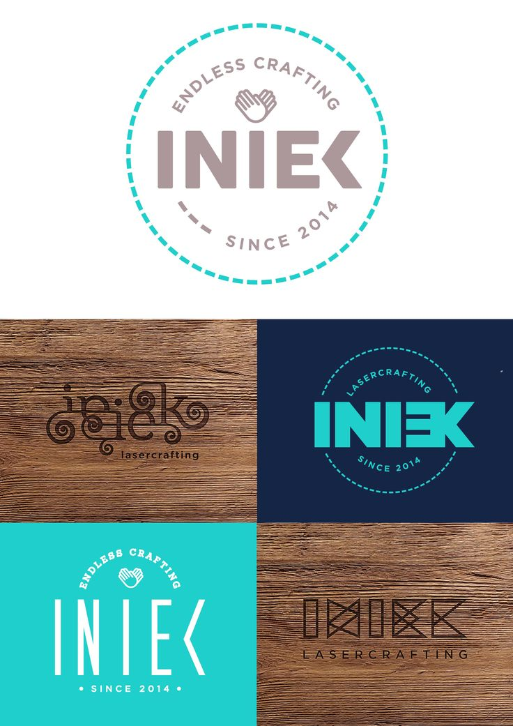 Lovely to work with this client! Iniek is a (laser) cutting edge company that specialises in bringing new ideas to the industry. Thank you Iniek, it was a pleasure! These were the logo options presented by Crinkle Complete Branding. www.crinkle.co.za