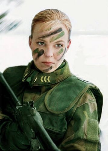 DMP-FF076 FINNISH FEMALE SOLDIER by damopabe, via Flickr