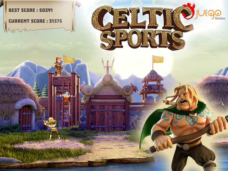 Game - Celtic Sports - Developed by Juego Studios in Bangalore, India.  Technologies used - Cocos2d-X Features - Compete with your friends!, Its TV OS App with stunning graphics.Ag4