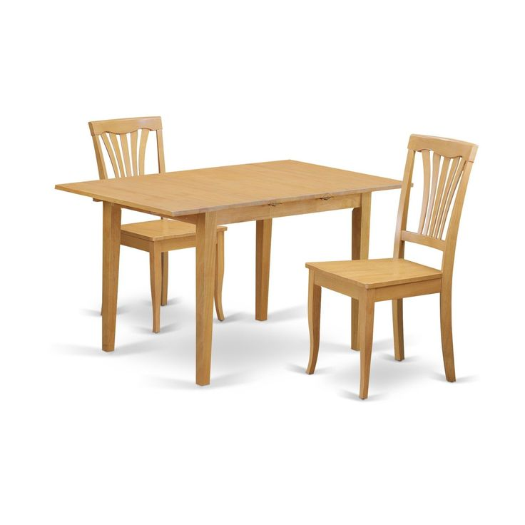 3-Piece Small Kitchen Table Set