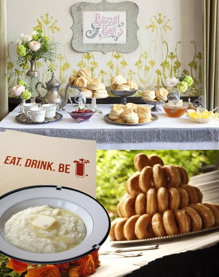 Brunch Wedding: Biscuit Bar What? I Love This Idea For A Morning Wedding Or  Brunch! Nothing Like A Warm Biscuit And Honey!