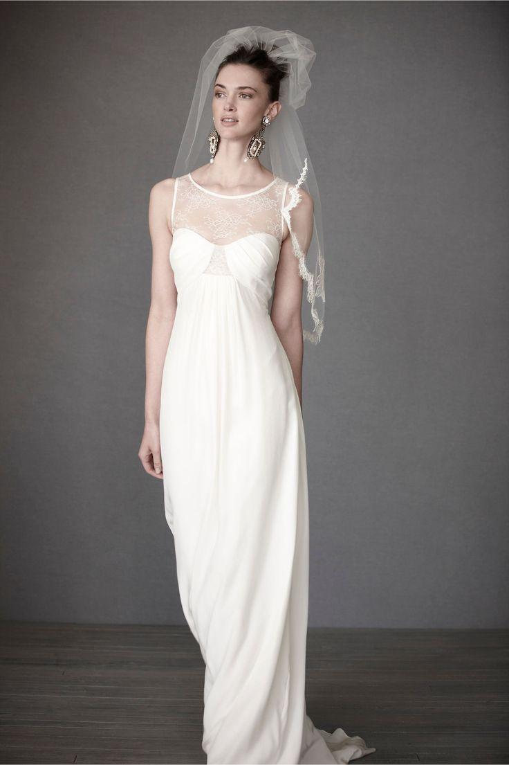 Free wedding dress catalogs  BHLDN Esprit de Corps Gown  Shabby Wedding and Chic