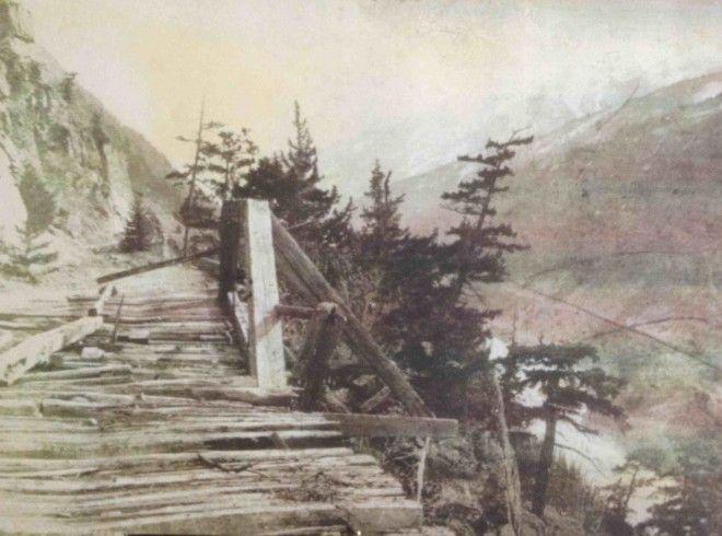 Wagon Road over Jackass Mountain, 1876