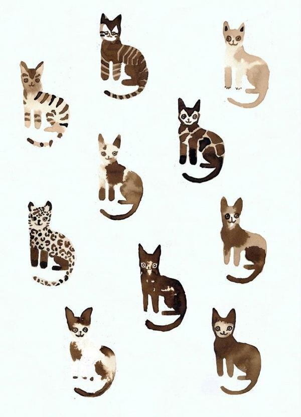 The boy who drew only cats by Dieter De Schutter, via Behance