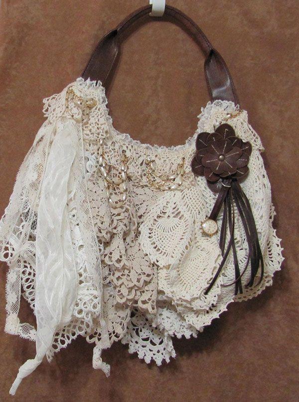 Фантазии на тему шебби-шика, воплощенные в дамских сумочках - Ярмарка Мастеров - ручная работа, handmade