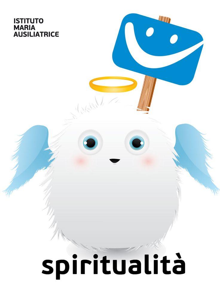 L'angioletto SPIRITUALITA' . Il cucciolo con il superpotere della spiritualità. Colleziona tutti gli IMA PETS!
