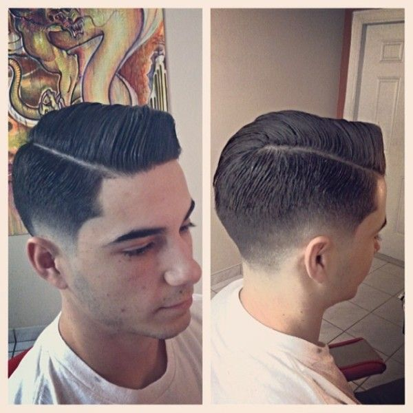 Side Part Hair Haircut Barbershop Style Guy Male Hair Today