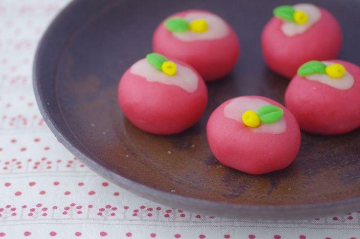 寒椿 KANNTUBAKI   #和菓子#wagashi#Japanese Sweets