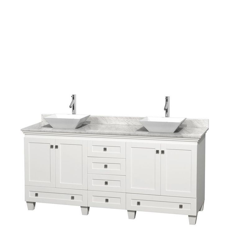 Wyndham Collection Acclaim 72-inch Double Vanity
