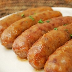 Cider Glazed Bratwurst: A sweet apple twist to the traditional beer ...