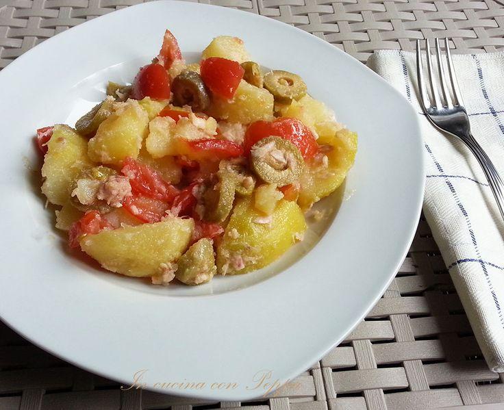 Insalata di patate -piatto estivo