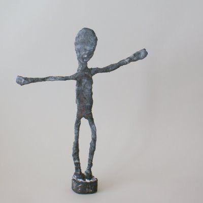 ArtMind: How to make a Giacometti statue?