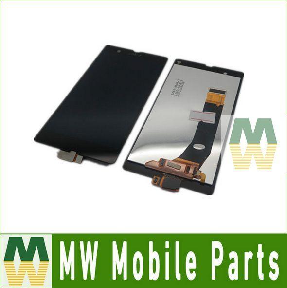1 PC/Lot 100% Asli Untuk Sony Ericsson Xperia Z L36h L36i C6603 C6606 C6602 c6601 C660x LCD + Layar Sentuh Warna hitam