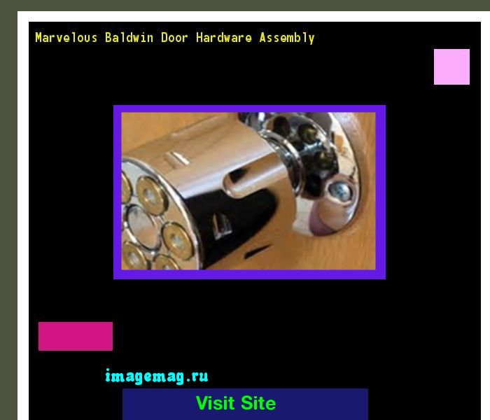 Marvelous Baldwin Door Hardware Assembly 101629 - The Best Image Search