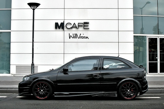 Black Opel / Vauxhall Astra G Tuning by WillVision