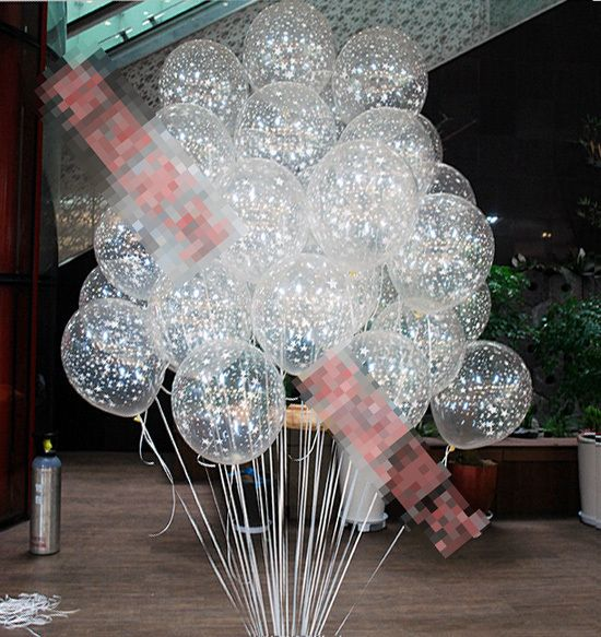 round 12inch=30cm clear star romatic pearl Latex Balloons helium hydrogen for Birthday Wedding Party decor Wholesale retail-in Event & Party Supplies from Home & Garden on Aliexpress.com | Alibaba Group