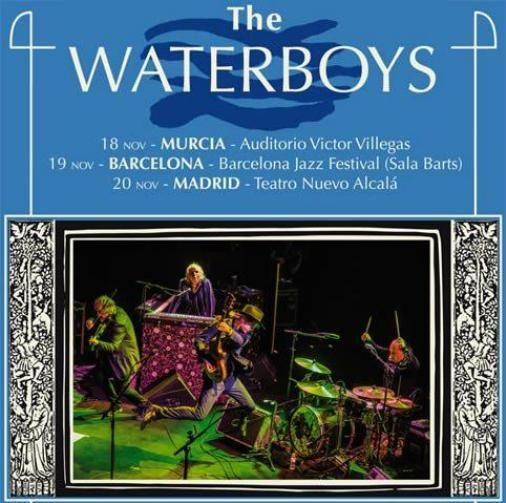 Tres citas con The Waterboys en la gira por España presentando 'Out of all this blue'