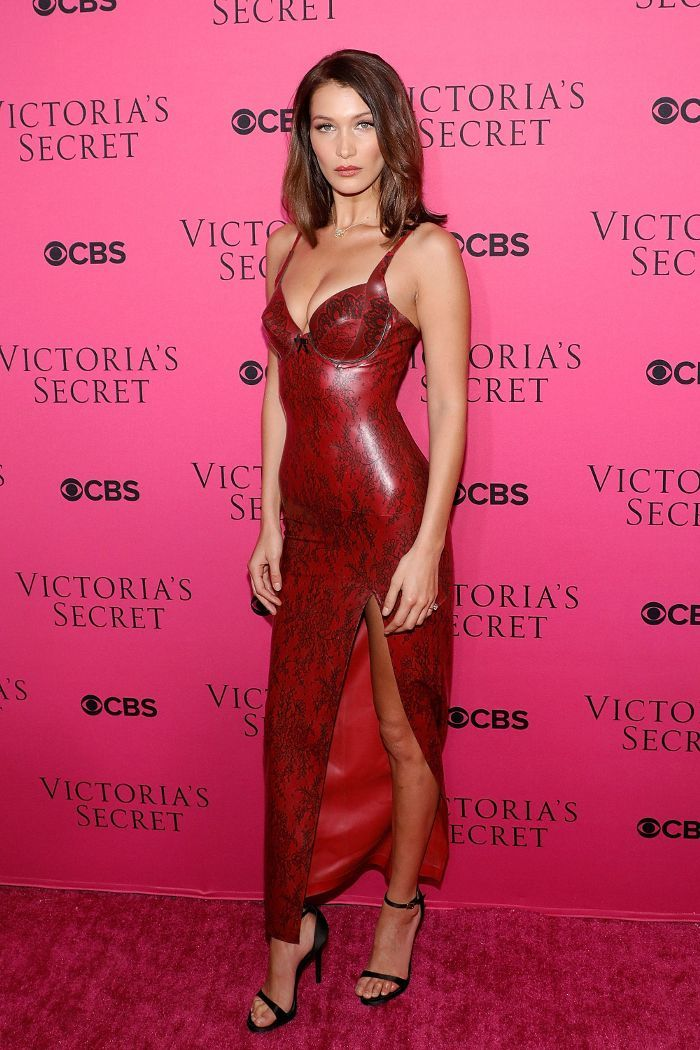 See what some of our favorite VS models wore to the 2017 Victoria's Secret Fashion Show viewing party.