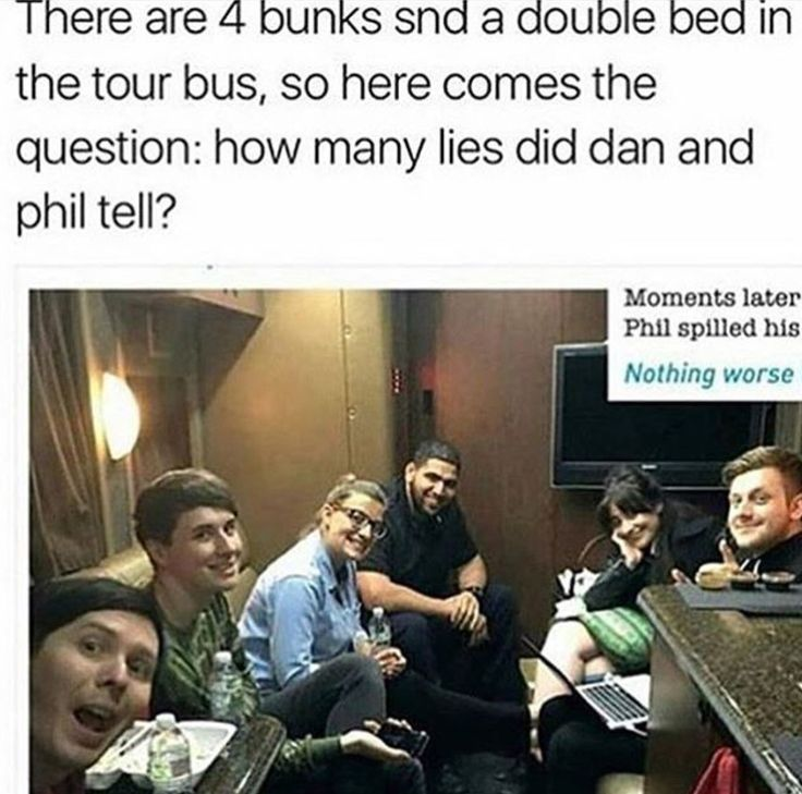 Omfg they're just digging themselves into a deeper hole>>>> of course they shared the double bed, Phil got it in the video and no one else woild share it with Phil so ha
