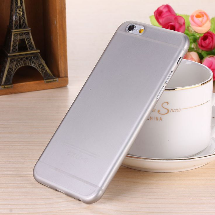0.28mm Ultra thin matte Case cover skin for iPhone 6/6S Translucent slim Soft plastic Free Shipping Cellphone Phone case