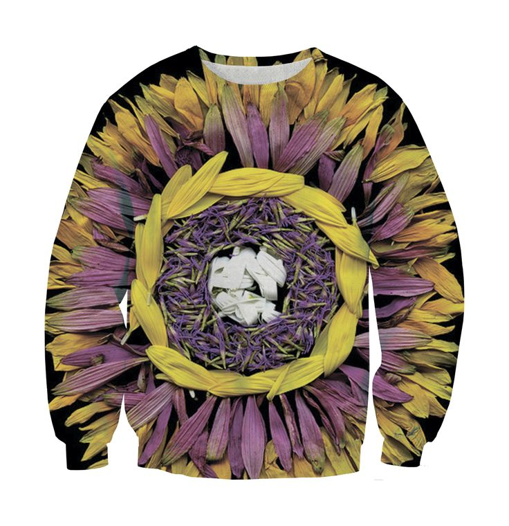 Sweatshirt flower