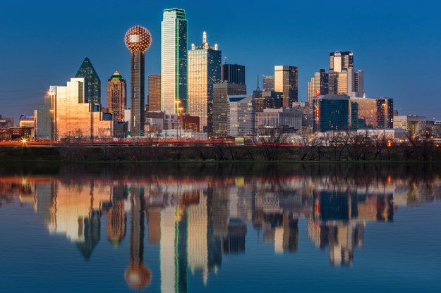 While Dallas' proves everything is indeed bigger and more beautiful in Texas. | 27 Reasons Living In Texas Ruins You For Life