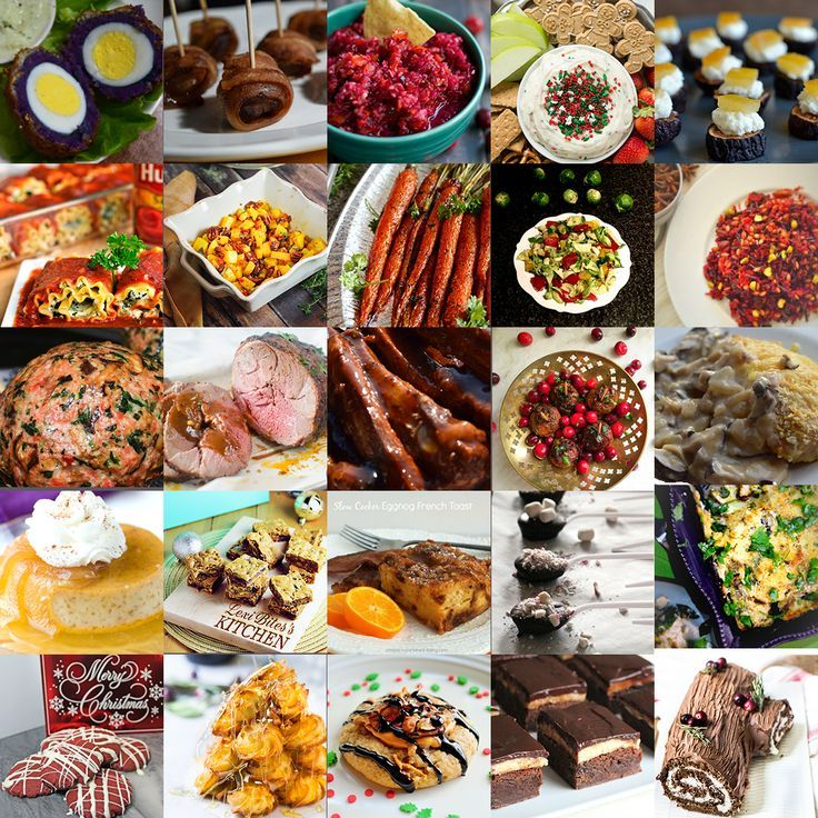 25 Amazing Christmas Recipes to make Holiday cooking and planning easy!! From Starters to Dessert | Merry christmas!!